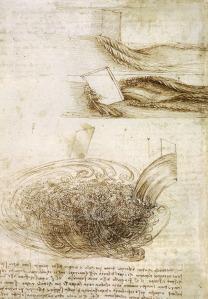 Leonardo da Vinci Studi sull'acqua