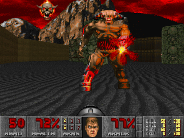 Doom Cyberdemone 1994